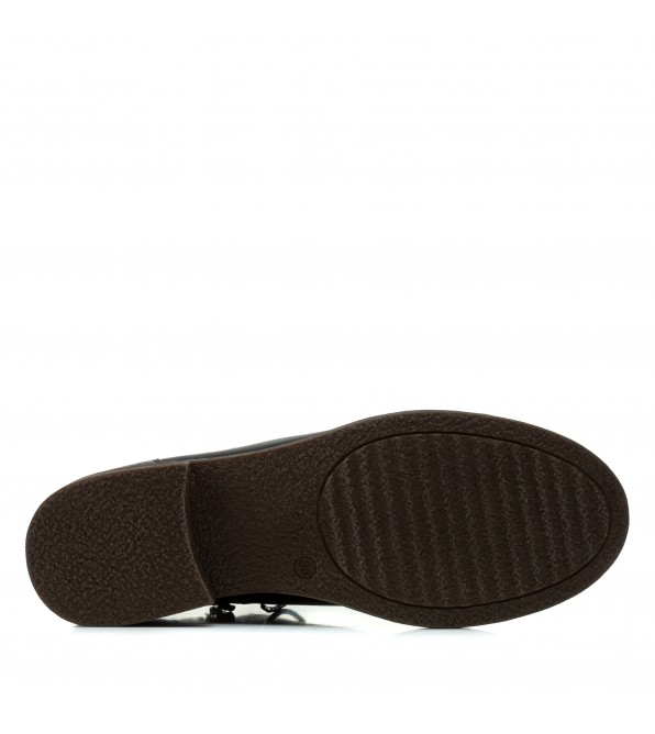 Черевики жіночі шкіряні зручні на шнурівках Kadar
