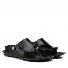 Шлепанцы кожаные Dan-shoes