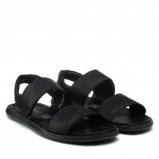 Сандалии мужские кожаные черные Rondo