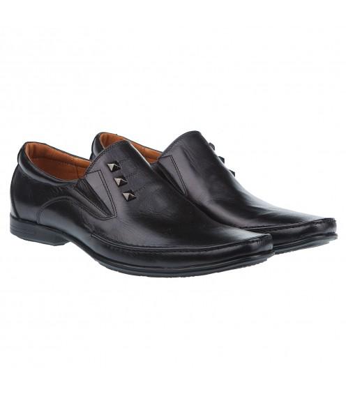 Туфлі чоловічі шкіряні зручні Zlett