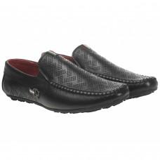 Мокасины кожаные с перфорацией Dan Shoes