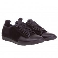 Туфли замшевые с кожаными вставками Basconi