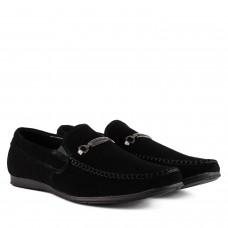 Мокасини чоловічі замшеві стильні DanShoes з пряжкою