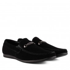 Мокасины мужские замшевые стильные DanShoes с пряжкой