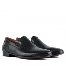 Туфли мужские кожаные классические без шнурков Sasha Fabiani