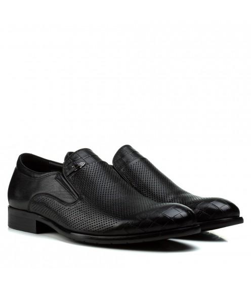 Туфлі чоловічі шкіряні класичні без шнурівок Cosottinni
