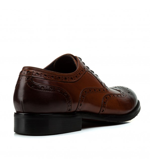 Туфлі чоловічі шкіряні елегантні з перфорацією Cosottinni