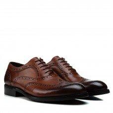 Туфли мужские кожаные элегантные с перфорацией Cosottinni