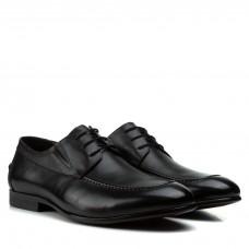 Туфли мужские кожаные стильные на шнурках Boss Victor
