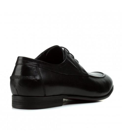Туфлі чоловічі шкіряні стильні на шнурівках Boss Victor