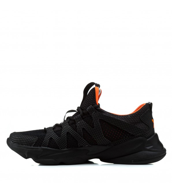 Кросівки чоловічі легкі зручні Extrem чорні молодіжні зручні стильні
