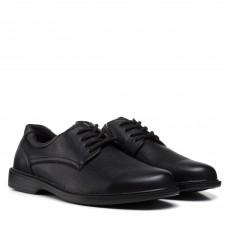 Туфли мужские черные на шнурках  meko melo