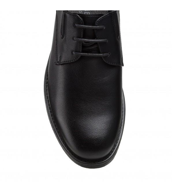 Туфлі чоловічі чорні весна-осінь meko melo