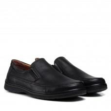 Туфли мужские черные без застежки Meko Melo