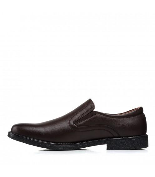 Туфлі чоловічі класичні коричневі Meko Molo