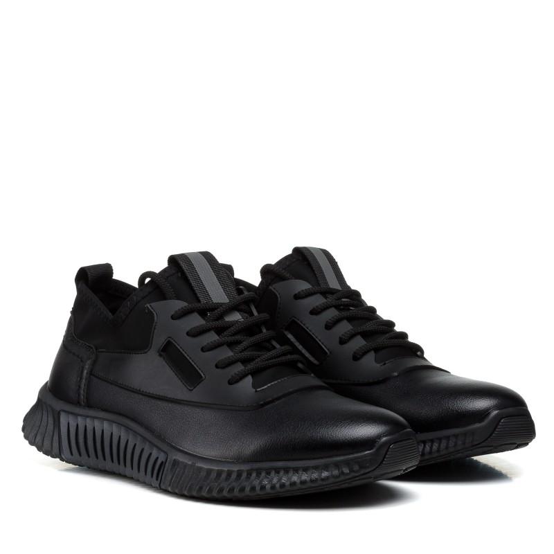 Кросівки чоловічі чорні спортивні Meko Melo