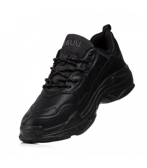 Кросівки чоловічі чорні демісезонні Meko Melo