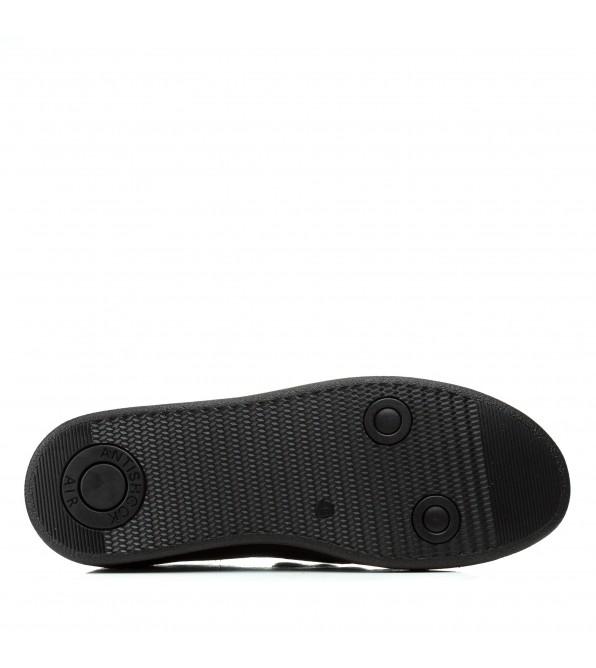 Туфлі чоловічі шкіряні чорні Kadar