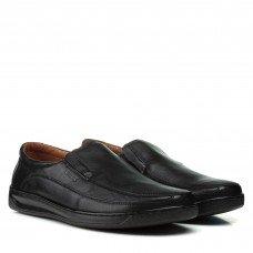 Туфли мужские кожаные черные Kadar