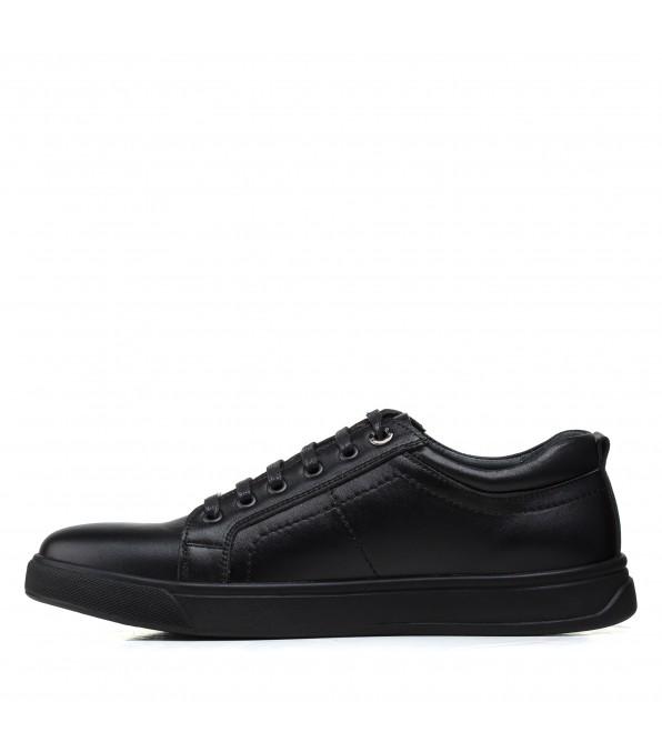 Туфлі чоловічі шкіряні чорні Brionis