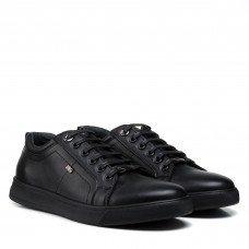 Туфли мужские кожаные черные Brionis