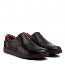 Туфли мужские коричневые кожаные Brionis