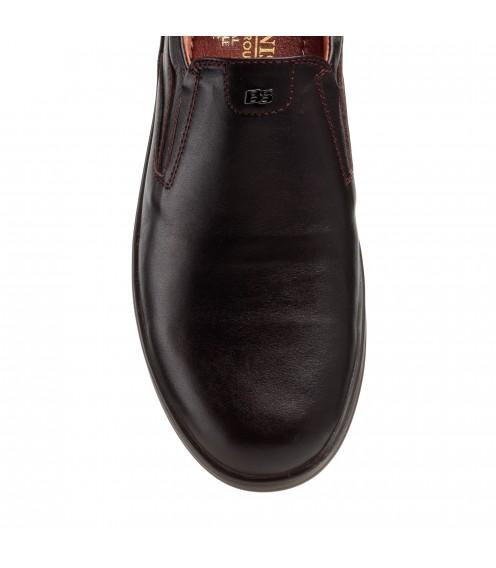 Туфлі чоловічі коричневі шкіряні Brionis