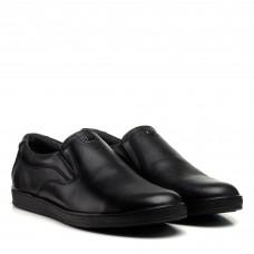 Туфли мужские черные кожаные классические Brionis