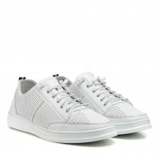 Туфли мужские белые летние altura