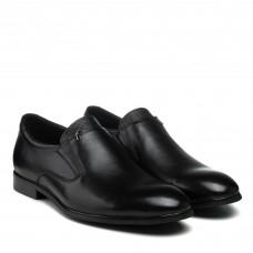 Туфли кожаные классические черные Boss Victor