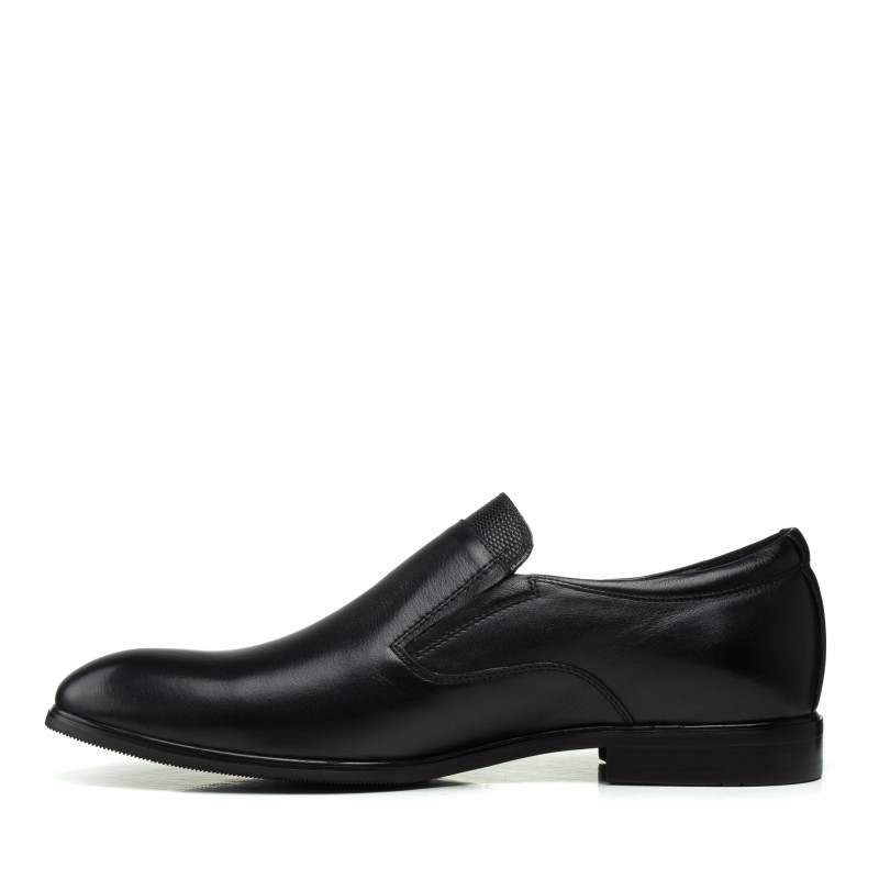 Туфлі шкіряні класичні чорні Boss Victor