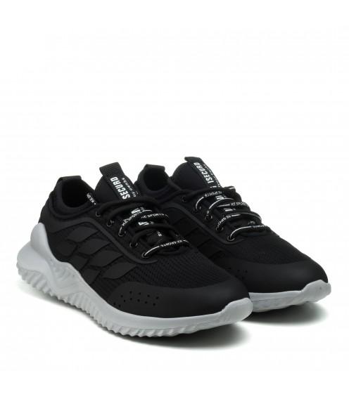 Кросівки чоловічі літні чорні Rondo