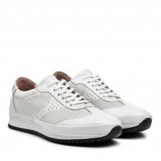 Кросівки чоловічі шкіряні білі  Atabey
