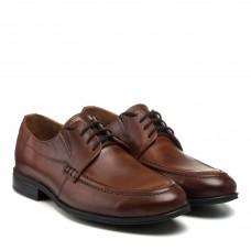 Туфли мужские кожаные коричневые Zlett