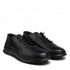 Туфли мужские кожаные черные Rondo