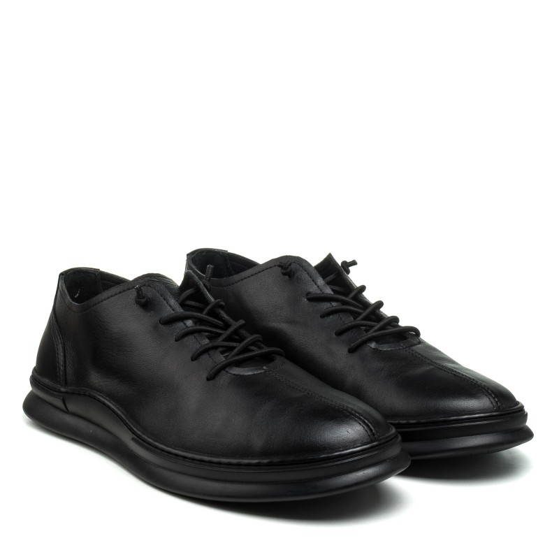 Туфлі чоловічі шкіряні чорні Rondo