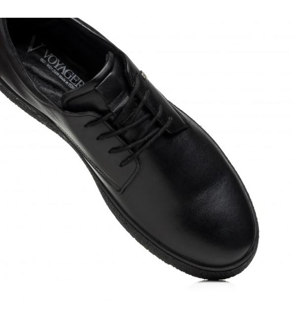 Туфлі чоловічі шкіряні на плоскій підошві Voyager
