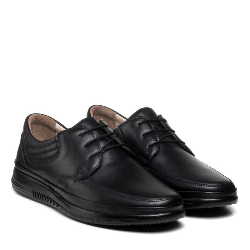 Туфлі чоловічі шкіряні на шнурівці VOYAGER