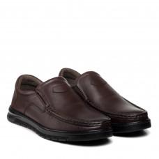 Туфли мужские кожаные коричневые Voyager