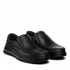 Туфли мужские кожаные черные VOYAGER