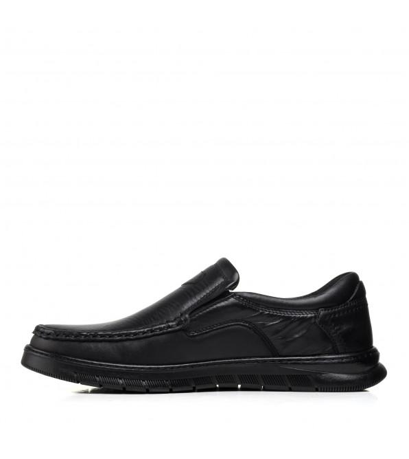 Туфлі чоловічі шкіряні чорні VOYAGER