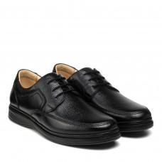 Туфли мужские кожаные на шнуровке DETECTOR
