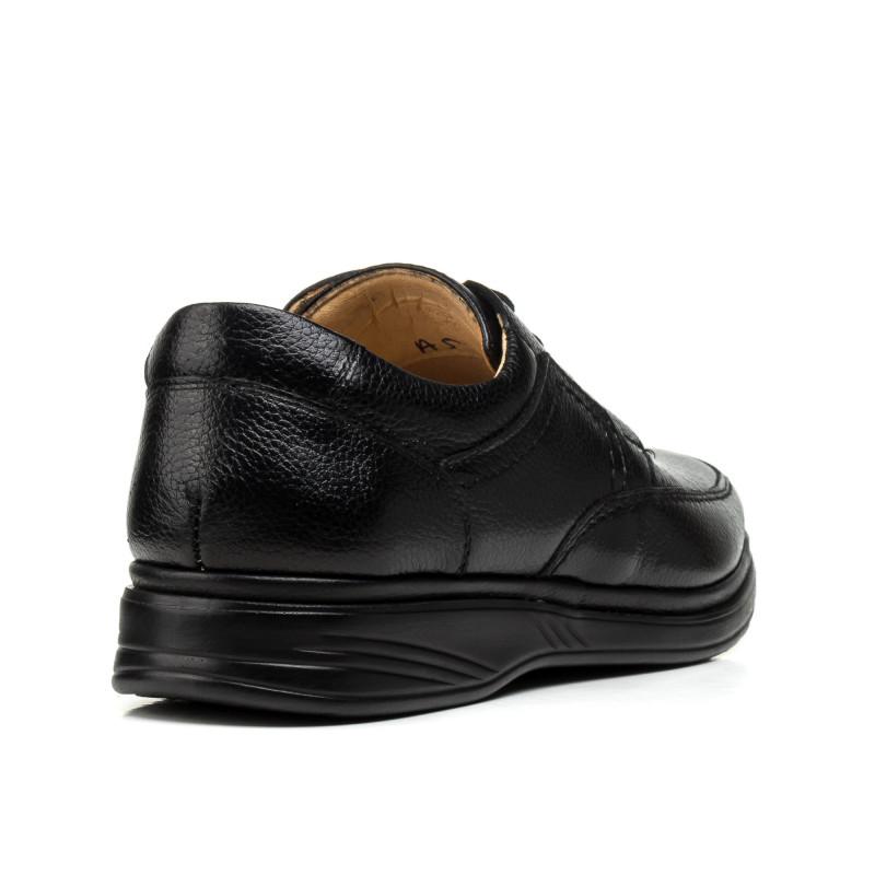 Туфлі чоловічі шкіряні на шнурівці DETECTOR
