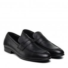 Туфли мужские кожаные черные El passo
