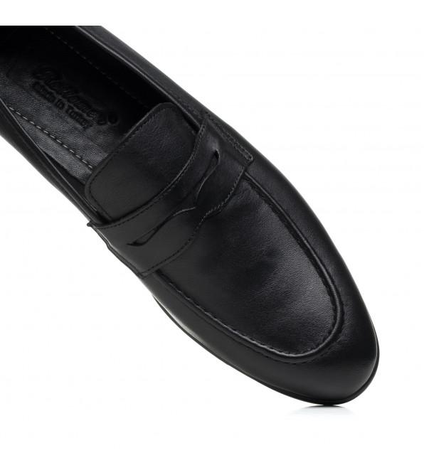 Туфлі чоловічі шкіряні чорні El passo