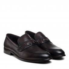 Туфли мужские кожаные коричневые PAVI