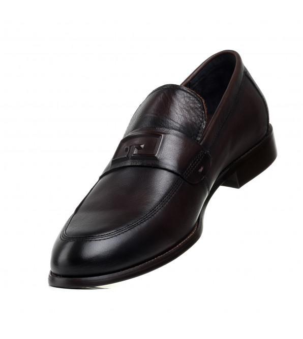 Туфлі чоловічі шкіряні коричневі PAVI