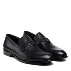 Туфли мужские кожаные черные PAVI