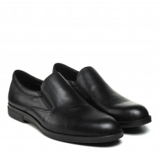 Туфли мужские черные кожаные PAVI