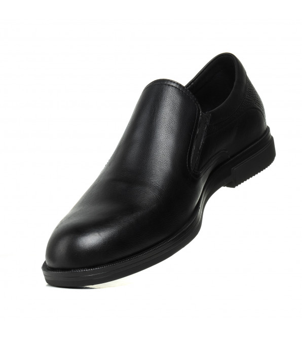 Туфлі чоловічі чорні шкіряні PAVI
